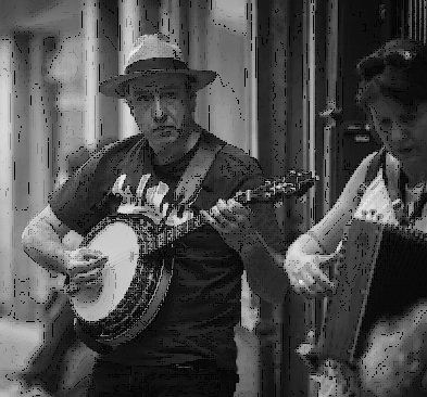 banjo et accordéon